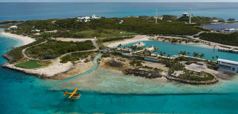 Bahamas Private Island Rentals Over Yonder Cay