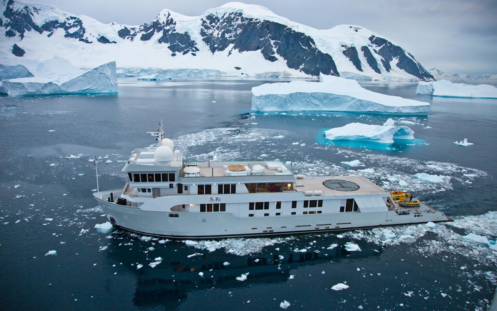Yacht Suri Luxury Yacht Charter Webster Associates